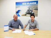 Luís Baumeister -General Manager Latin America GULF Oil Marine e Pablo Luchetta - CEO YPF Brasil